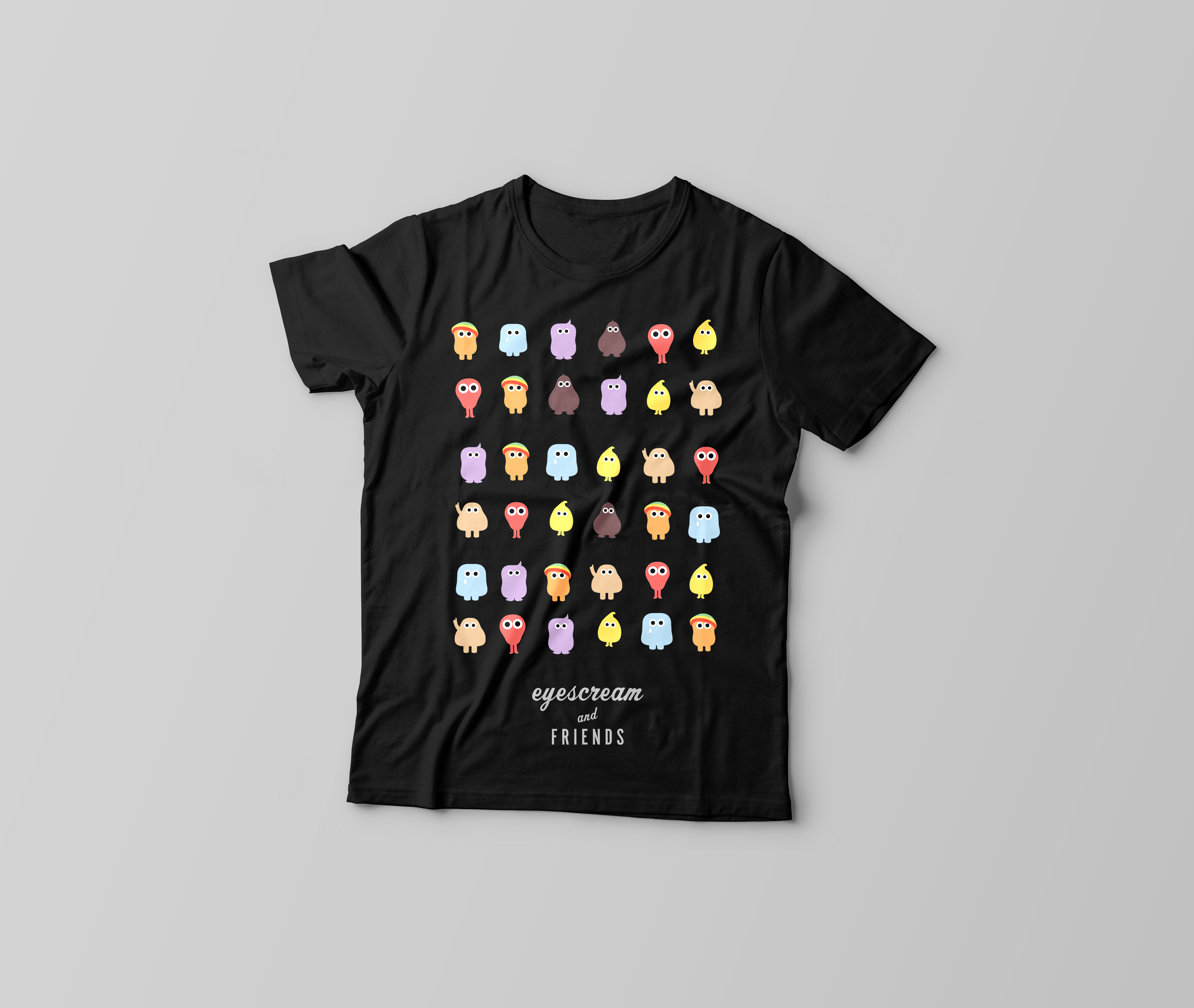 T-Shirt-sort-logo
