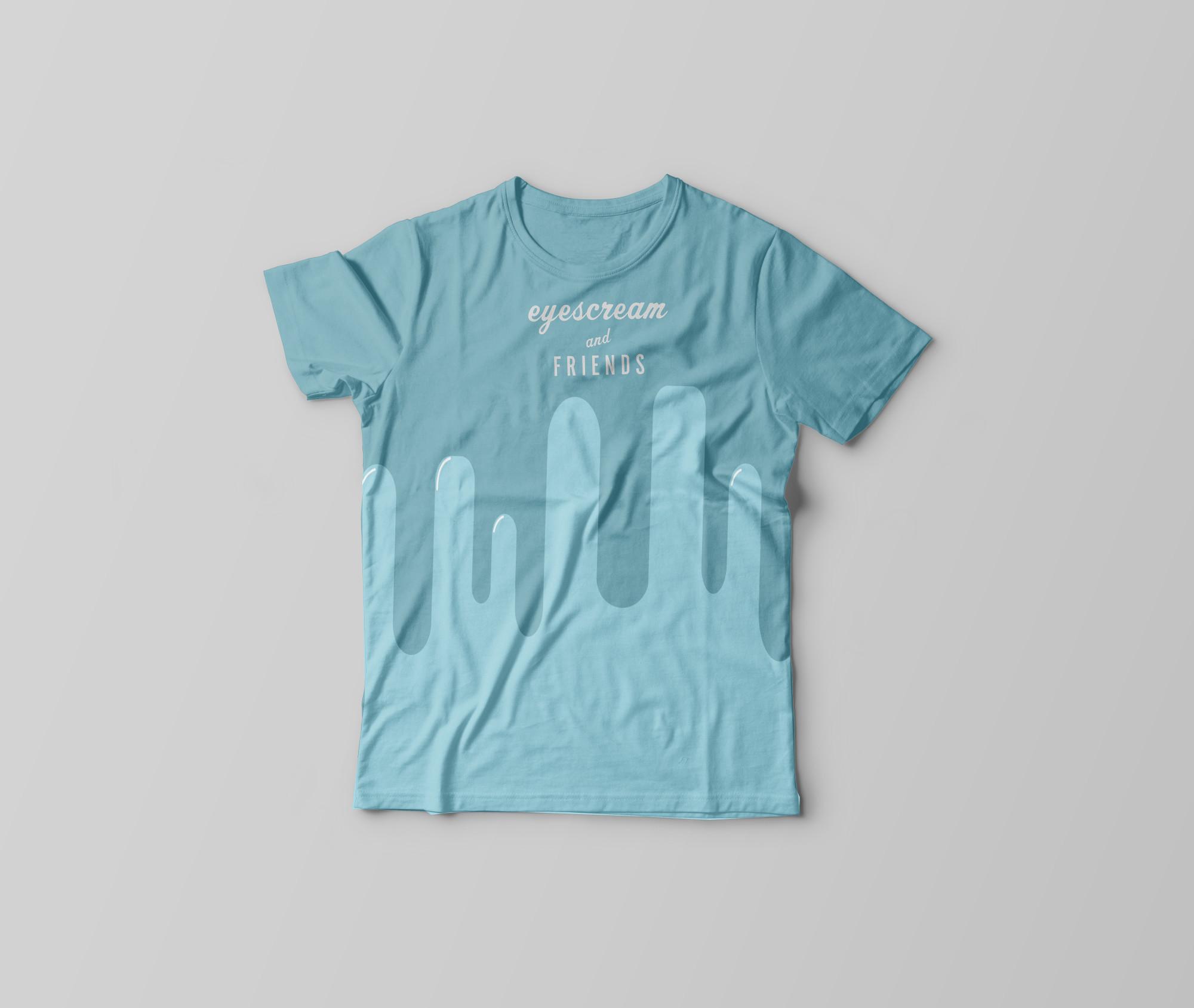 T-Shirt-splat